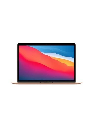 "Apple Apple Macbook Air M1 Çip 8gb 512gb Macos 13"" Qhd Taşınabilir Bilgisayar Altın  Altın"